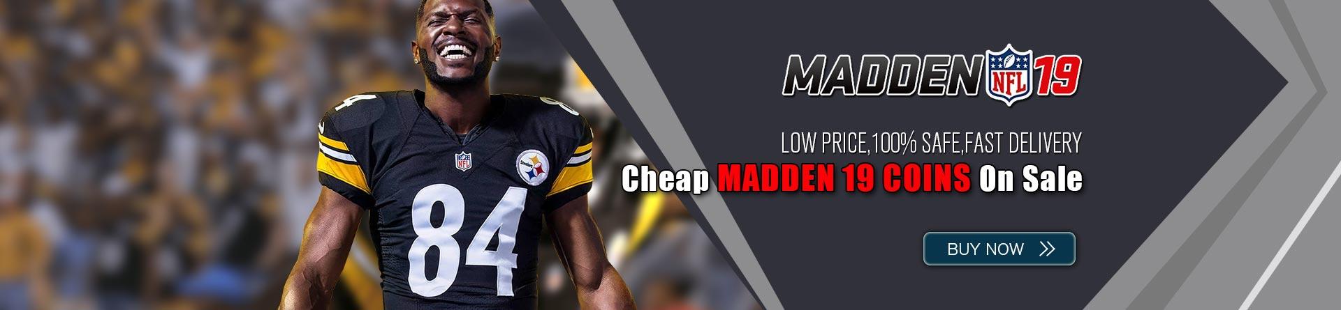 Cheap Madden 19 Coins
