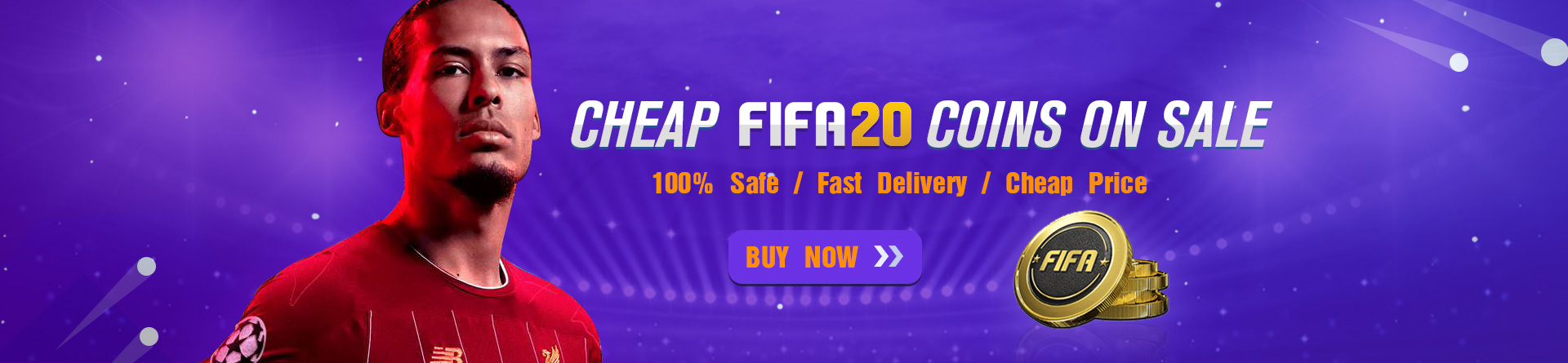 Cheap FIFA 20 Coins For Sale