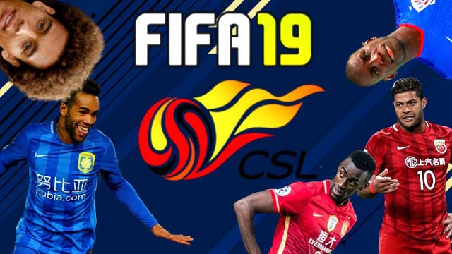 Chinese Super League in FIFA 19