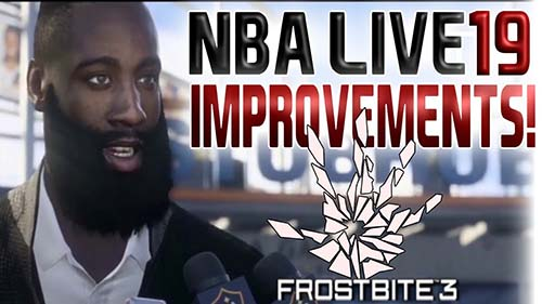 NBA Live 19 Frostbite Engine Debut