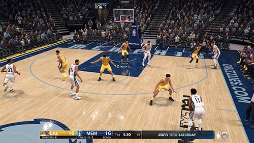NBA Live 19 Screenshot